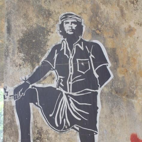 mundu lungi kerala che guevara communism socialism india