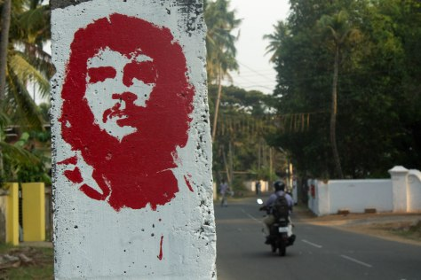 Che Guevara India Kerala Communism