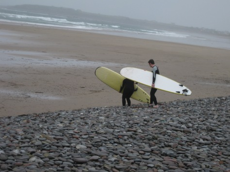Surfing Lesson in Castlegregory, Ireland