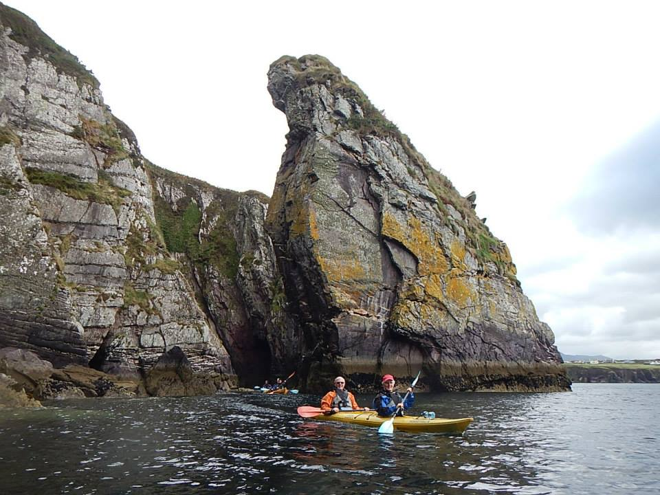 Kayaking in Dingle Bay Ireland with Irish Adventures