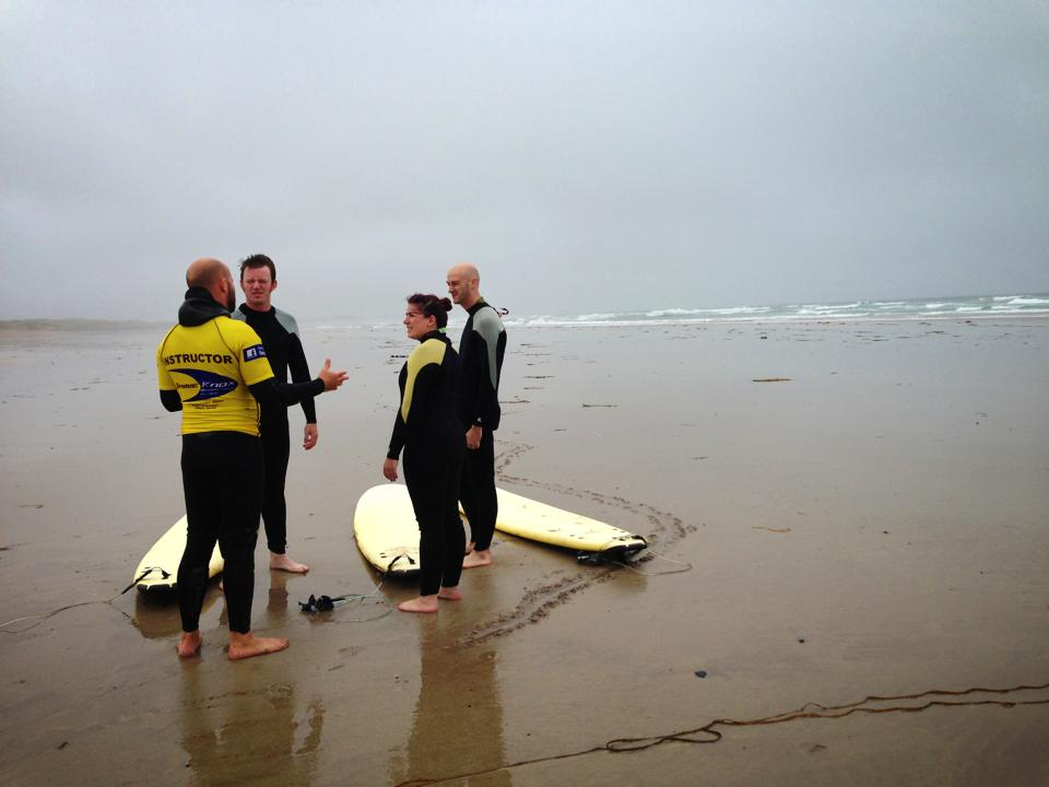 Surfing Lesson in Castlegregory, Ireland