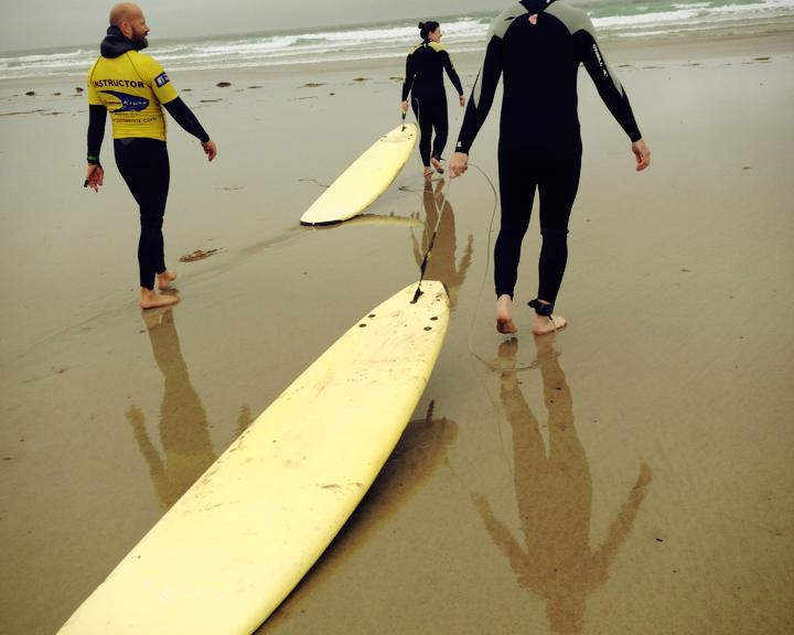 learn to surf in Ireland
