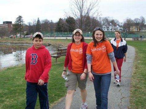 Cousins at the MS Walk in Portsmouth