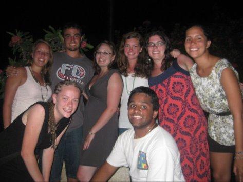 Team Rojo in the Dominican Republic
